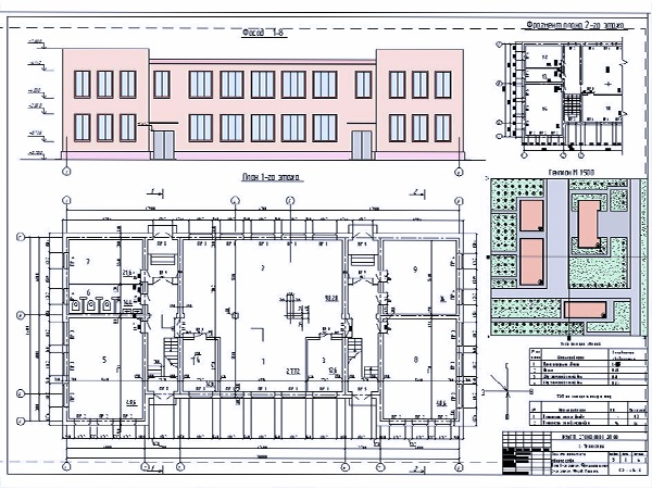 Перечень услуг по проектированию административных зданий в вашем городе